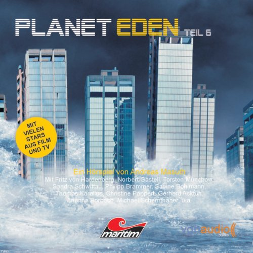 Planet Eden 6 audiobook cover art