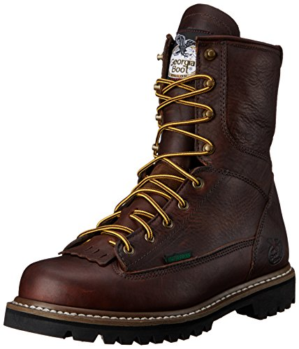 Georgia Boot Men's 8' Lace-to-Toe Work Boot