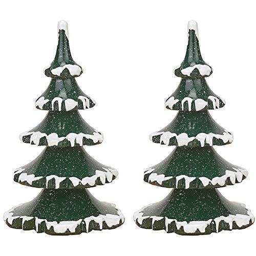 Hubrig Volkskunst Winterkinder 2er-Set Baum - groß - 11 cm