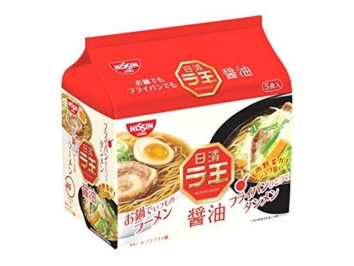 日清ラ王 袋麺 醤油 5食P×6個
