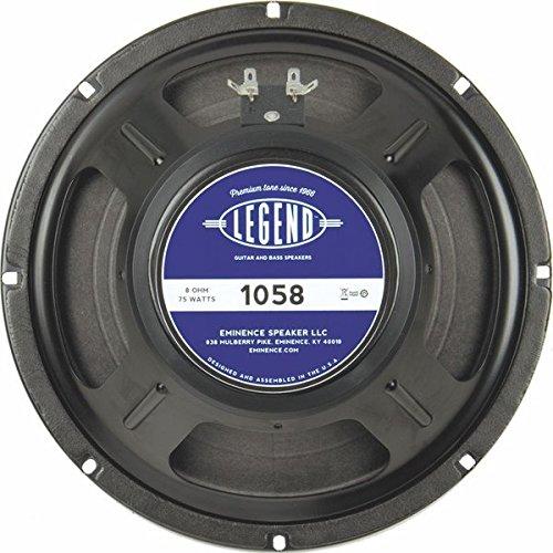 "Eminence Legend 1058 10"" Guitar Speaker, 75 Watts at 8 Ohms"