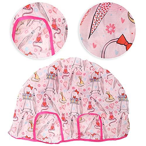 Funda para silla de bebé, Poliéster Pongee Herramientas portátiles de alimentación para bebés, Rosa para bebés(Pink)