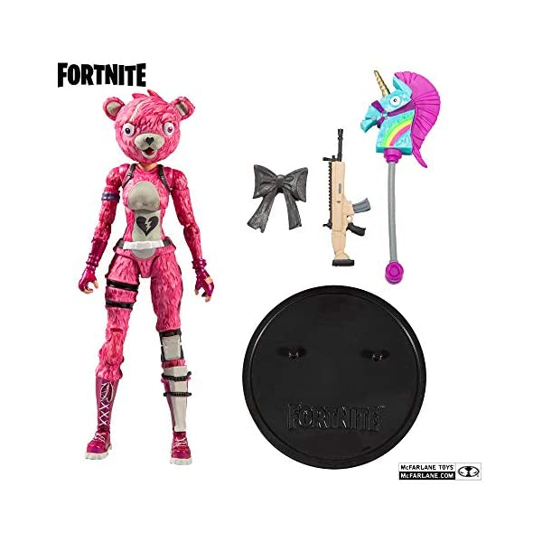 Fortnite - Figura articulada Cuddle Team Leader 18cm 3
