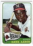 HANK AARON HOF 1965 Topps #170 Atlanta Braves...