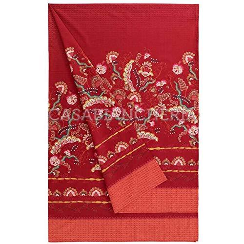 Bassetti Foulard CIVITA R1 Rojo 180 x 270 cm