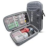 VapeHero Estuche XL para Cigarrillo electrónico | Estuche para vaporizador para máx. 80ml de líquido y Accesorios | Apto para Grandes Mods | Resistente a Golpes