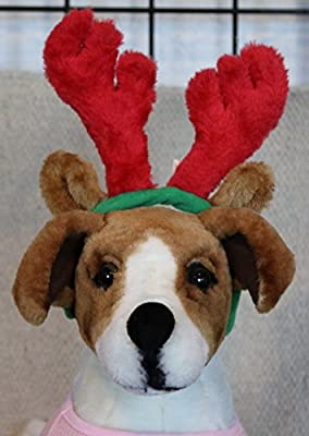 Outward Hound Kyjen PP03374 Holiday Bell Collar Antler Combo Pack Holiday Wearable Accessories For Dogs, Large, Green from Kyjen