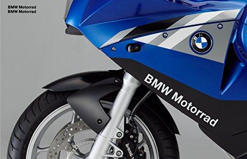 snstyling.com Pegatina para Encajar BMW Motorrad Pegatina 30cm 2 Piezas Conjunto (Blanco)