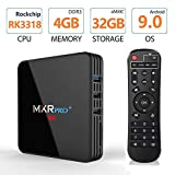 Android 8.1 TV Box ,2019 MXR Pro + 4G DDR3 32G EMMC Flash