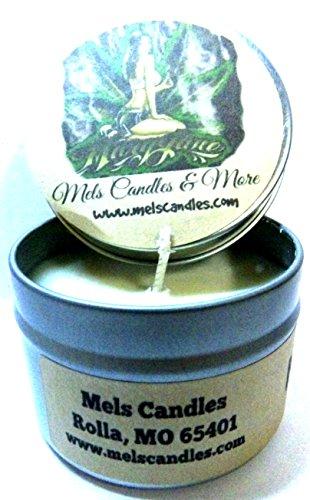 Mary Jane (Marijuana Aroma) 4 Ounce All Natural Handmade Soy Candle Tin