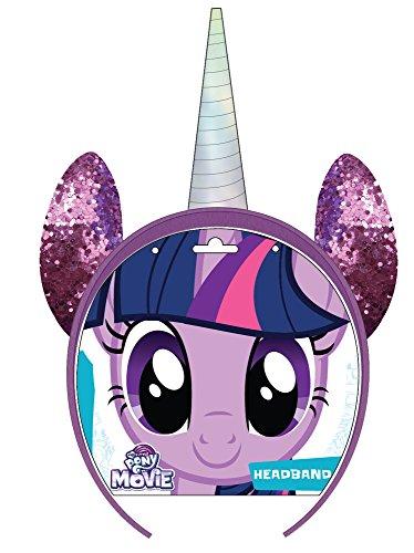Joy Toy 95086 My Little Pony Twilight Sparkle Haarreifen auf backercard, 15 x 15 cm
