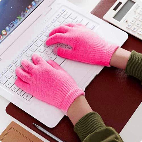 JHLWLS Handschuh Unisex Winter Warme Kondensator Strickhandschuhe Touchscreen Smartphone Weibliche Handschuhe Warm Zu Halten