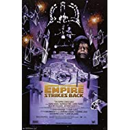 (22x34) Star Wars Episode V (Empire Strikes Back, Darth Vader) Movie Poster Print Poster Print, 24x36