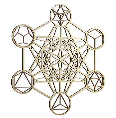 ZenVizion 13.5' Metatron's Cube Wall Decor...