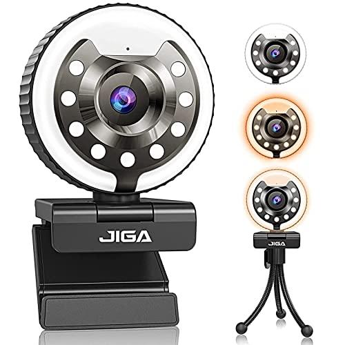 JIGA-Webcam mit Mikrofon und Licht...