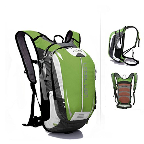 SINCERE@ Outdoor équitation sac à dos d'hydratation sac à dos petits respirants légers sacs sac de sport d'alpinisme (Vert)