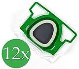 Confezione doppia da 6 sacchetti per aspirapolvere, alta qualità, adatti per Folletto Vorwerk VK 200