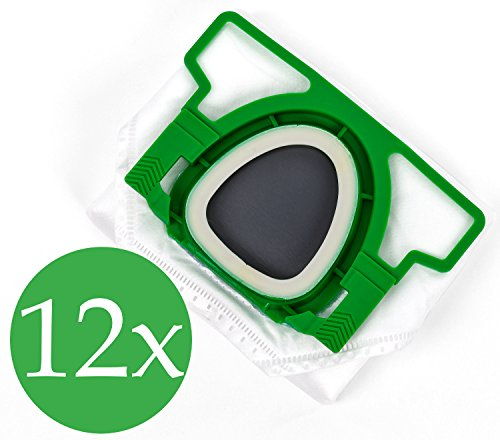 Doble pack 2x 6Bolsas de aspiradora Premium para Vorwerk Kobold VK 200
