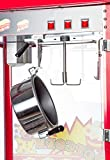 Popcornmaschine Kirmes XXL mit Wagen, 2-teilig - 4