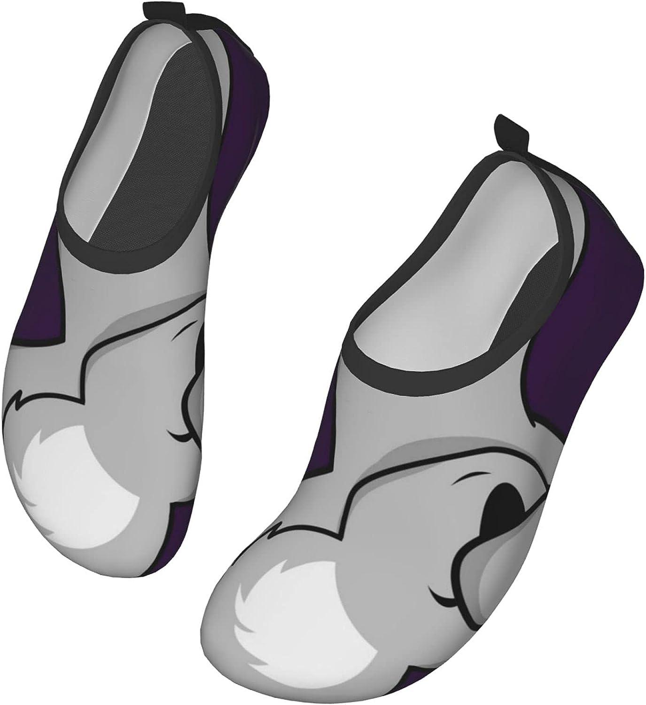Dab Dabbing Pose Koala Kid Cartoon Womens and Mens Water Shoes Barefoot Quick-Dry Aqua Socks Slip-On for Outdoor Beach Swim Yoga
