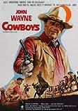 The Cowboys     John Wayne     Danish Imported Mov
