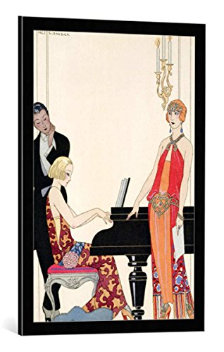 Kunst für Alle Cuadro con Marco: Georges Barbier Incantation Illustration for Gazette...