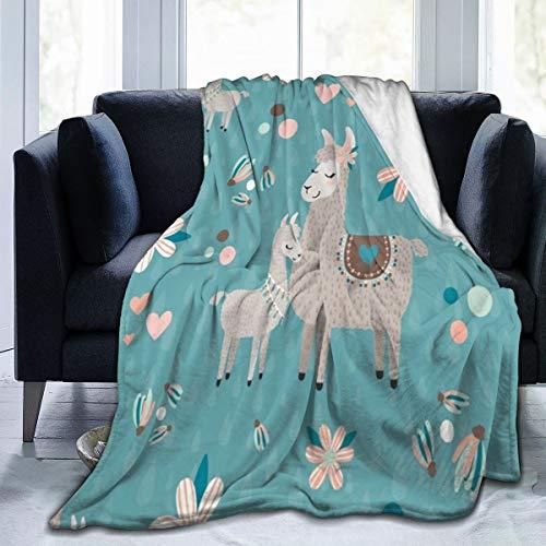 Llamas Soft Throw Blanket