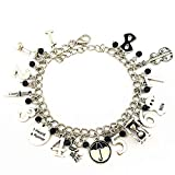Wonderful Boutique TV Movies Show Original Design Quality Cosplay Jewelry Umbrella Academy Charm bracelet Gifts for Girl Woman Men