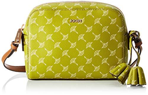 Joop! Cloe, Bolso bandolera (cremallera para Mujer, Verde, 21x15x6
