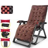 AI LI WEI Home Outdoor/Klappstuhl, Zero Gravity Massagesessel mit Armlehnen tragbare verstellbare Lehnstuhl