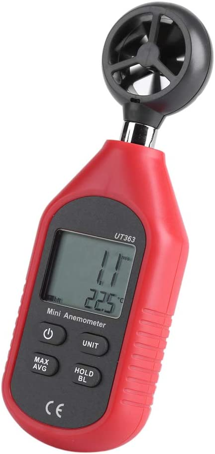 Germerse 2021 spring and summer new Genuine Free Shipping Digital Anemometer Overload Gaug Speed Wind Indication