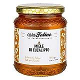 miele di eucalipto naturale calabrese 500 gr - casafolino - delizioso miele di api dal gusto intenso e balsamico. ideale per dolcificare e fare dolci.