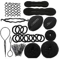 Limeo Accesorios Para el Cabello Styling Set Kit de Herramientas de Modelado Del Cabello Kit de Accesorios de Peluquería Accesorios de Peinado Herramientas Para el Cabello (total de 8 modelos)