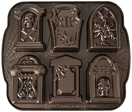 Nordic Ware Tombstone Cakelets, 11.75 x 10.13, Bronze