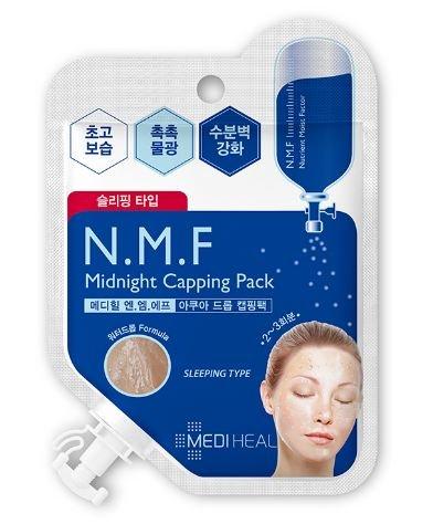 MEDIHEAL メディヒール N.M.F ミッドナイト キャッピング パック 15ml N.M.F Midnight Capping Pack 韓国コ...