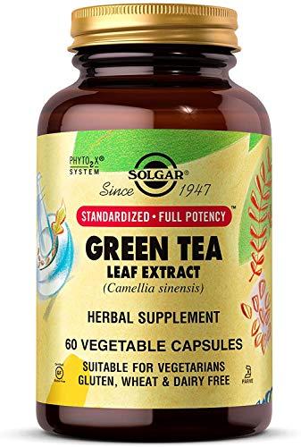 Solgar Te Verde Extracto de hoja Capsulas vegetales - Envase de 60
