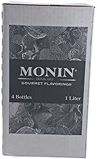 Monins Wildberry Fruit Puree Syrup, 1 Liter -- 4 per case. by Monins