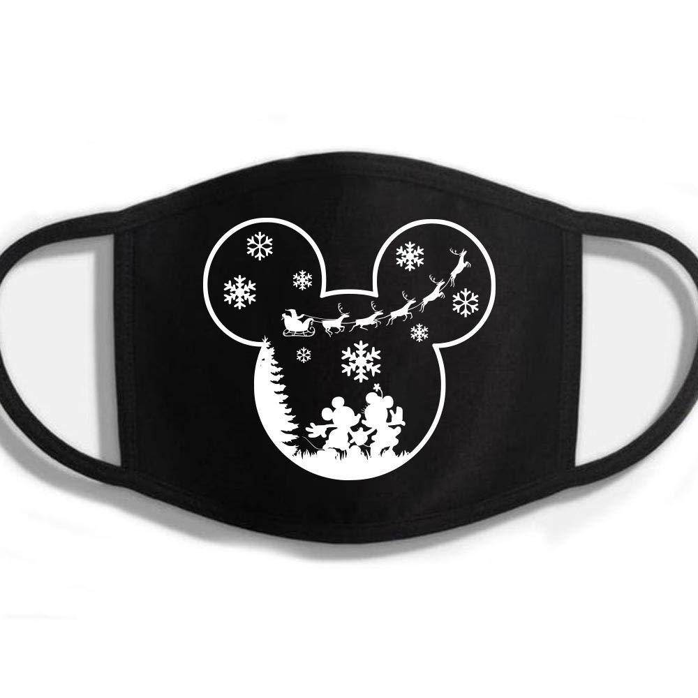 Sleigh security New item Christmas Santa Mickey Minnie Party Reusable Very W Merry