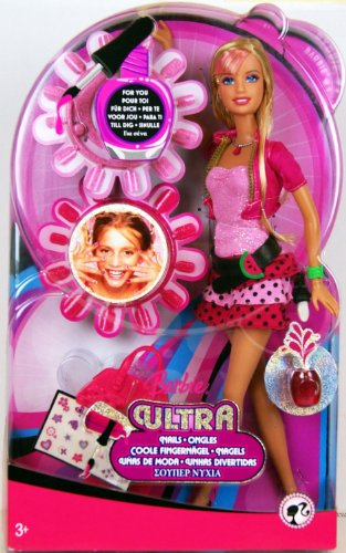 Barbie - N6429 - Ultra Nails - Barbie & 2 Sets of Nails for YOU