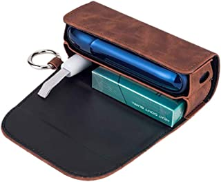 Case cover for IQOS Device Protective Holder, Leather Cover Case for IQOS 3.0,DUO Portable Electronic Cigarette Storage Ba...