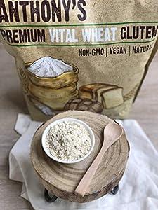 Anthony's Vital Wheat Gluten, 4 lb, High in Protein, Vegan, Non GMO, Keto Friendly, Low Carb #3