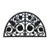 Rubber-Cal 'Irish Garden Rubber Cast Iron Doormat, 18 by 30-Inch