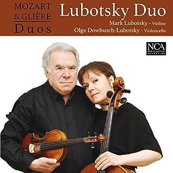 Mozart & Glière Duos