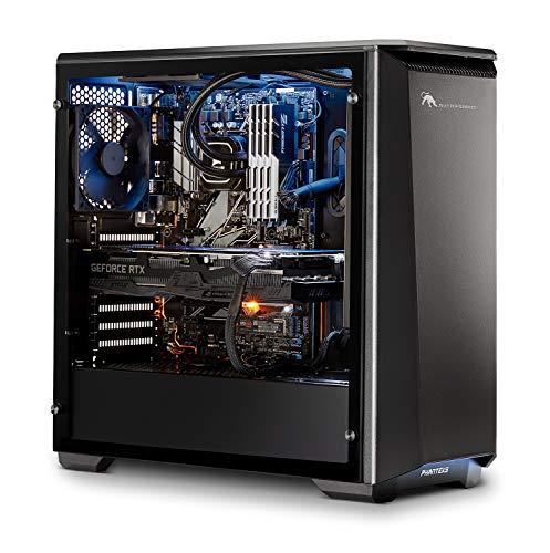 Joule Performance Esports RTX2070 Desktop PC (Intel Core i7-8700K, SSD da 250 GB, HDD da 2000 GB, RAM da 16 GB, ASUS DUAL RTX2070-O8G, Win 10 Pro)