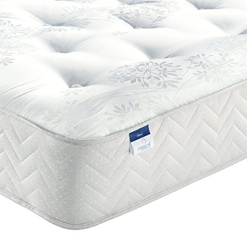 Silentnight Bexley Miracoil King Size Mattress - Orthopaedic Back Support. Firm, Comfortable. Anti-Allergy. 5 yr Warranty.