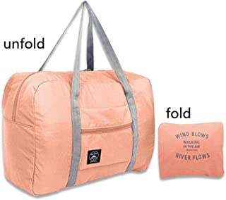 Girl Weekend Bag Waterproof Nylon Travel Bags Women Men Large Capacity Folding Duffle Bag Organizer Packing Cubes Luggage Bag