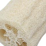 2x Esponja Vegetal Natural Luffa Exfoliante para Bano Loofah Sponge Scrubber