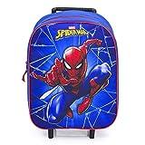 Marvel Spider-Man Trolley Kinderkoffer - Blau