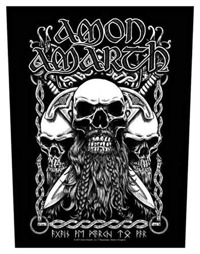 Amon Amarth Bearded Skull Rückenaufnäher