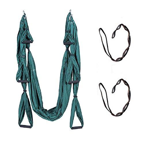 QUBABOBO Yoga hängmatta nylon taft T210 anti-gravitation yoga gunga sling inversion max 664 lb...